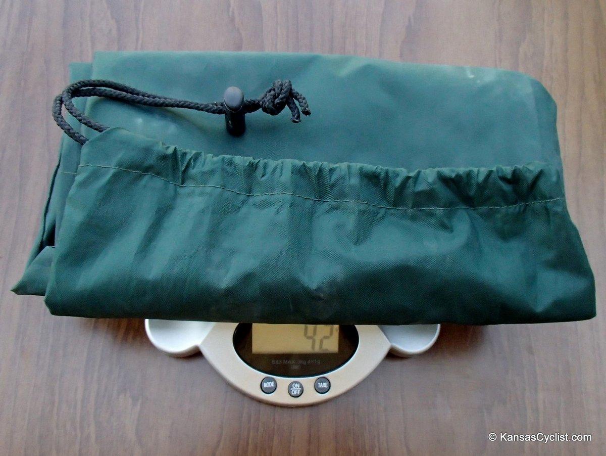lawsonhammock weightstuffsack blue ridge camping hammock review   kansas cyclist news  rh   kansascyclist