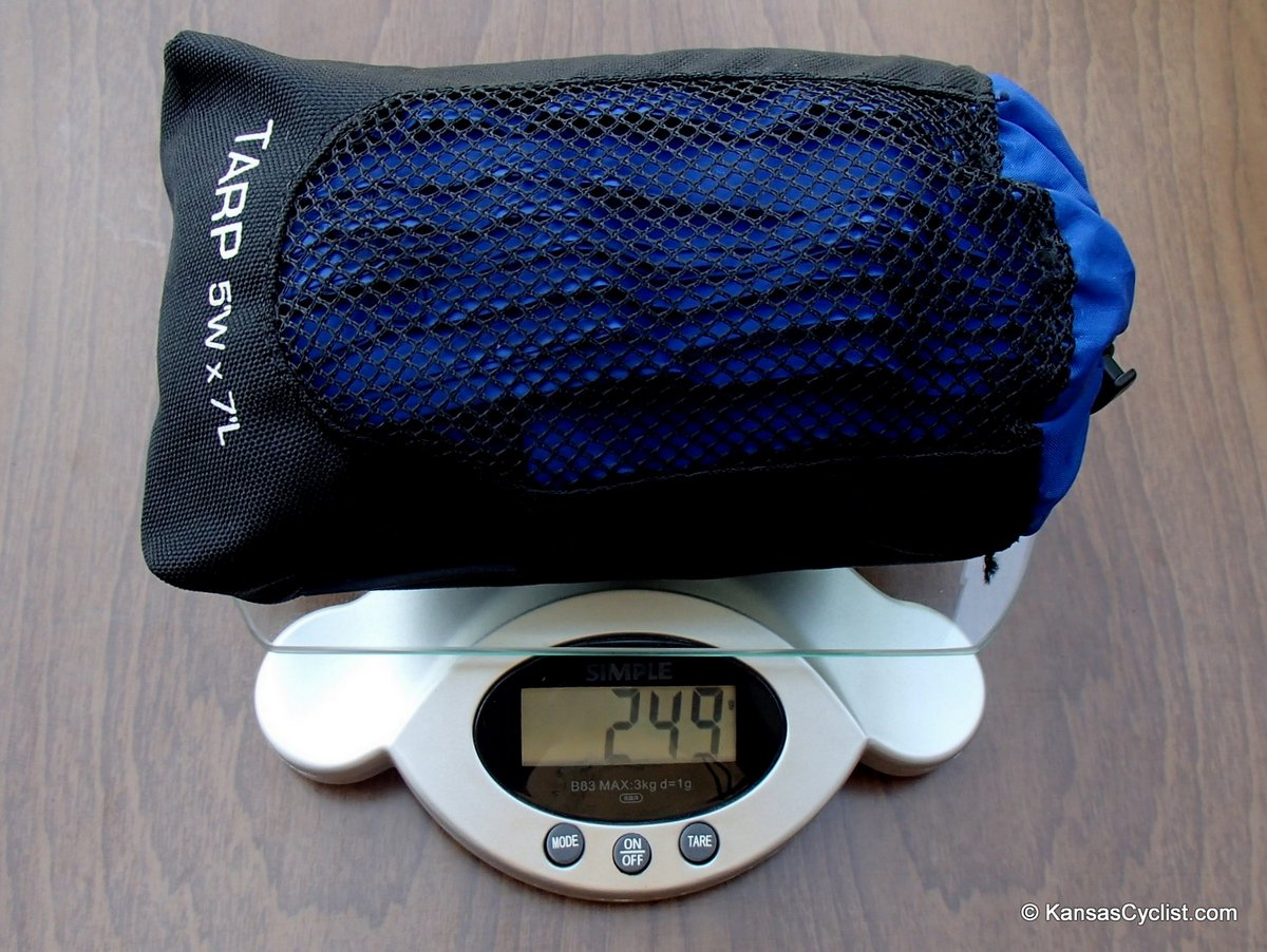 lawsonhammock weighttarp blue ridge camping hammock review   kansas cyclist news  rh   kansascyclist