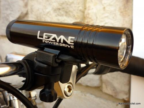 Lezyne LED 25.4mm Handle Bar Mount Aluminium