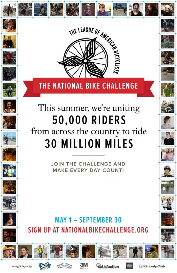National Bike Challenge 2014 Poster