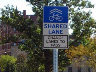 Sharrow-Signage