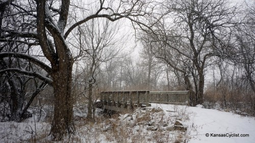 Snowy Trail Bridge