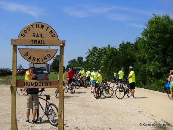 Southwind Rail Trail Humboldt Trailhead 2013-06