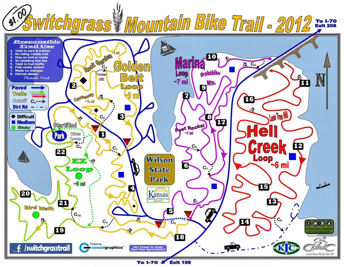 Switchgrass Mountain Bike Trail Named Epic Kansas Cyclist News