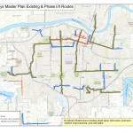Topeka Bike Routes Phases 1 & 2