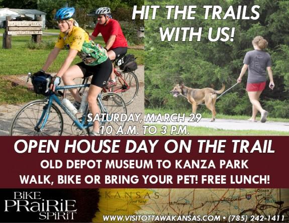 Prairie Spirit Trail Open House 2014
