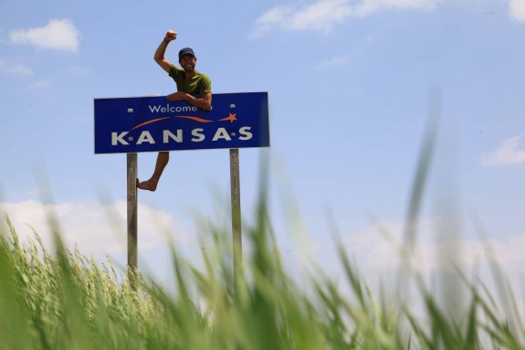 Welcome to Kansas Rob Greenfield
