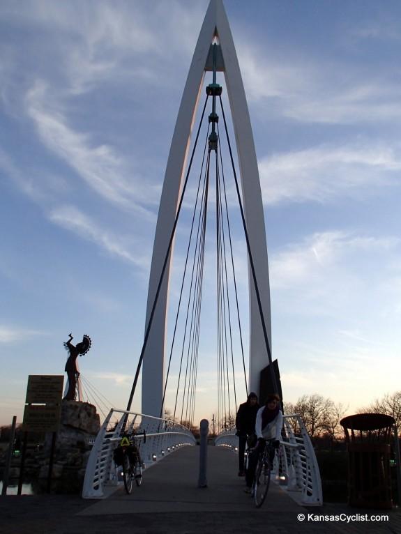 Wichita Bike-Ped Bridge