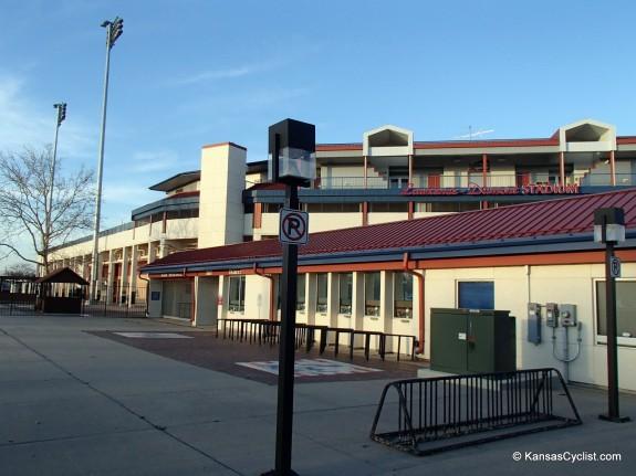 Wichita Bike Rack - Lawrence-Dumont Stadium