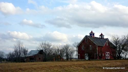1898 William Thomas Turner Barn near Gardner, KS