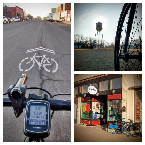 Winter Bike To Work Day 2016 Iola KS
